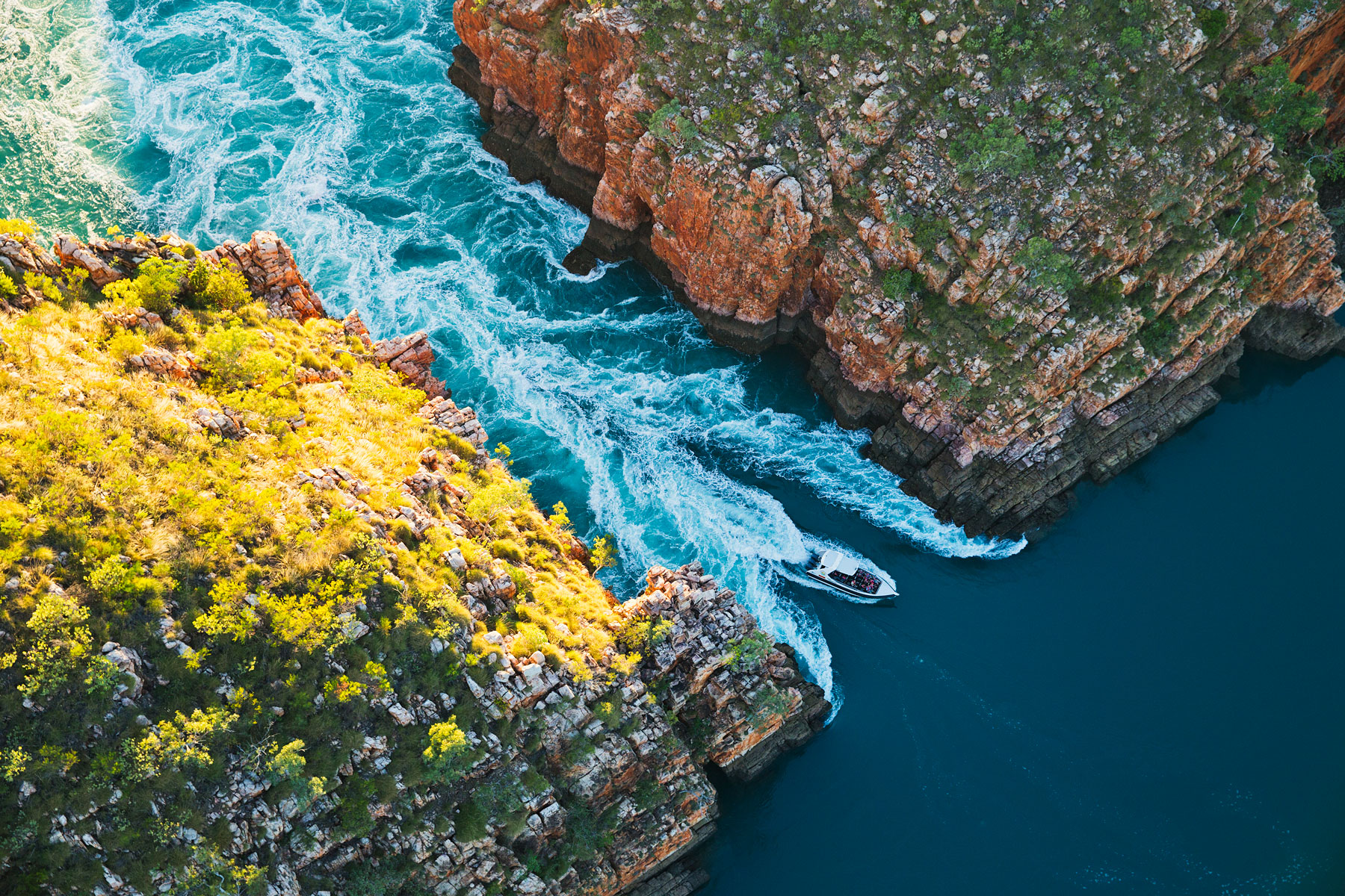 6. Horizontal Waterfalls