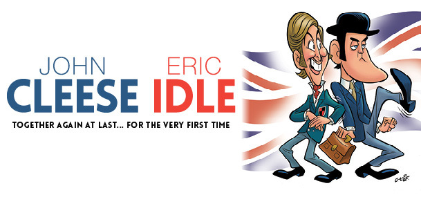 What s on in perth john cleese and eric idle together again at