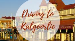 Driving to Kalgoorlie