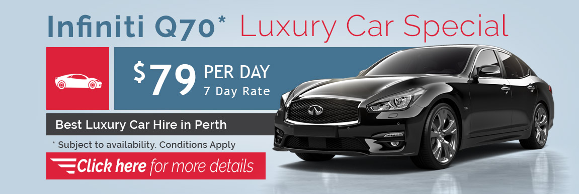 Northside Rentals - Luxury Car Hire Perth Special - Infiniti Q70