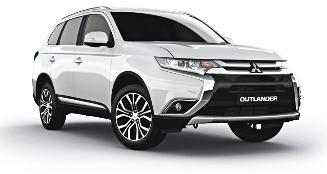 Mitsubishi Outlander - 4WD Car Hire Perth - Northside Rentals