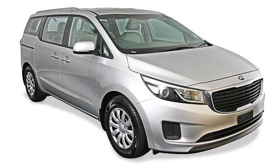 Kia Grand Carnival - People Carrier - Car Hire Perth