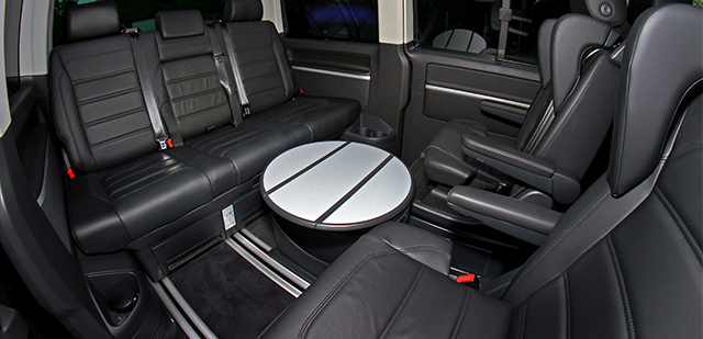 Volkswagen Multivan - Interior Back - Car Hire Perth - Northside Rentals