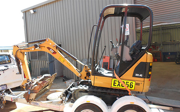 Excavators for hire in Perth Small to Large Excavators