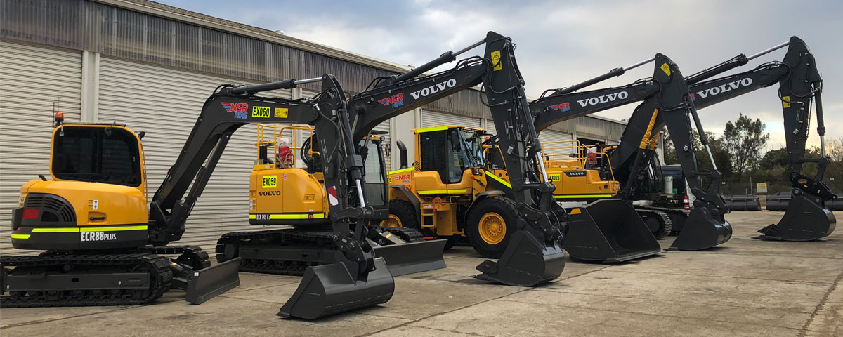 Hire Excavators Range