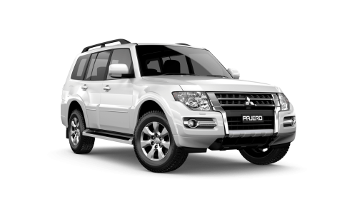 Hire Mitsubishi Pajero in Perth
